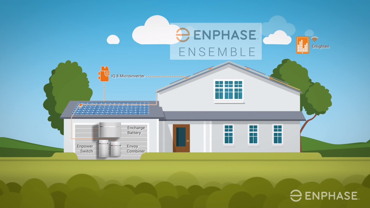 Enphase IQ8 microinverter to work during blackouts